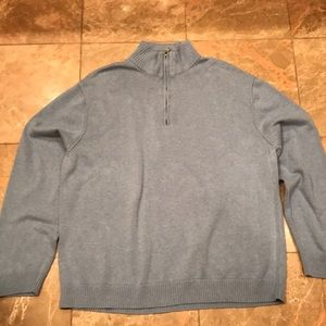 Calvin Klein Men's Mock Neck Sweater